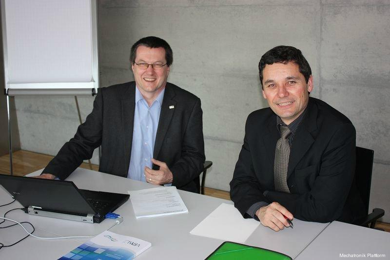 Mechatronik Plattform Sitzung, FHV, Dornbirn, 17.03.2010