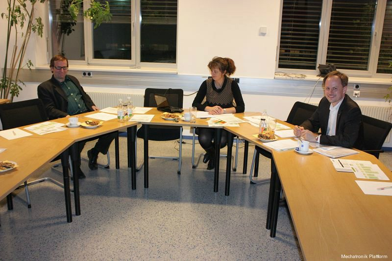 Mechatronik Plattform Sitzung, FH Joanneum, Graz, 22.02.2012