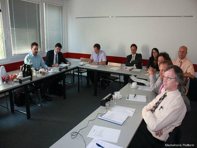Mechatronik Plattform Sitzung, FHTW, Wien, 22.09.2010