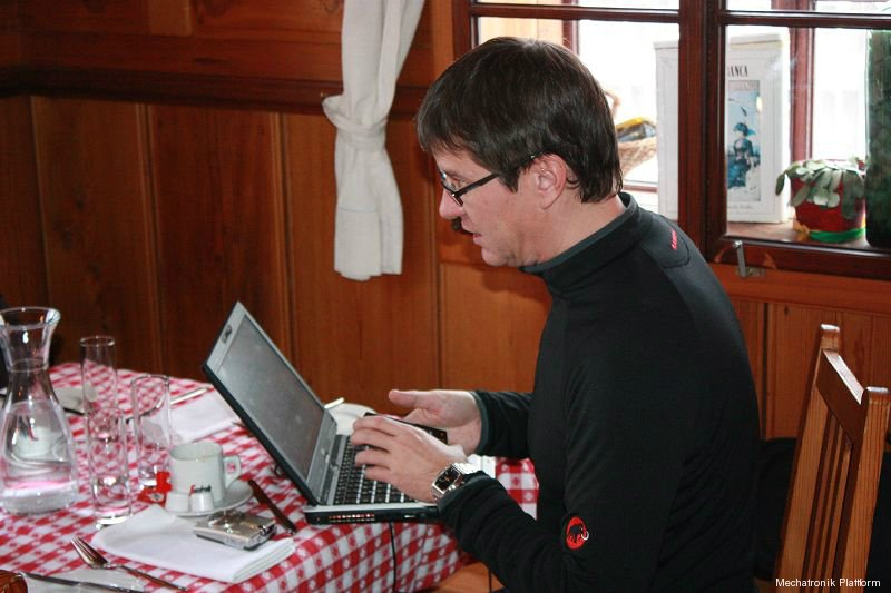 Mechatronik Plattform Sitzung, FHWN, Semmering, 24.01.2011
